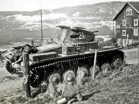German Armored Forces & Vehicles - In Norway
