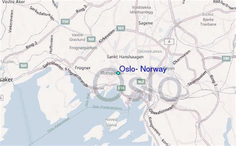 Oslo, Norway Tide Station Location Guide