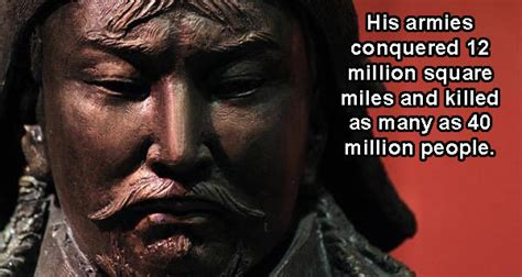 27 Genghis Khan Facts About The Mongol Empire's Brutal Ruler