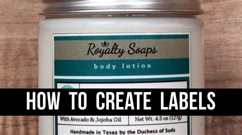 How to Make Product Labels (With 100% Free Software) - A