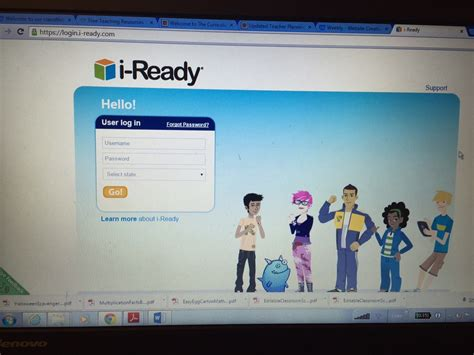 I-Ready - Welcome to our classWebsite! :)