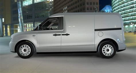 Makers Of Electric London Taxi Preview Electrified Van