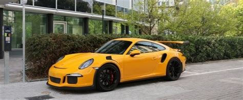 Paint To Sample Yellow Porsche 911 GT3 RS PDK Begs for a