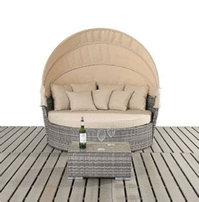 Round Outdoor Daybeds UK ~ Outdoor Furniture