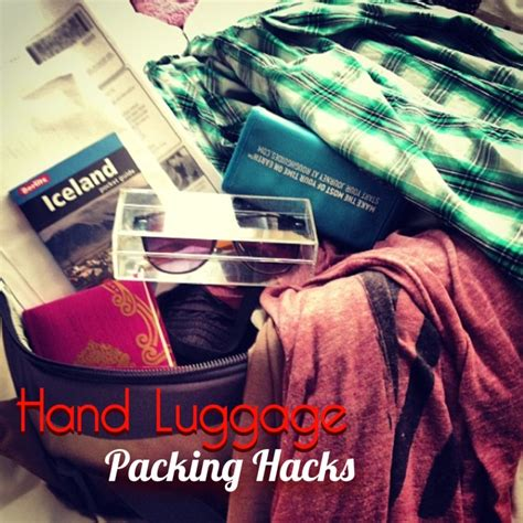 Hand Luggage Packing Hacks For A Weekend Getaway