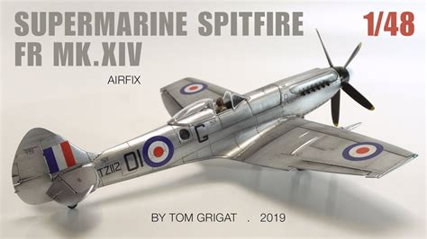Silver Spitfire - the MK14 from Airfix - YouTube