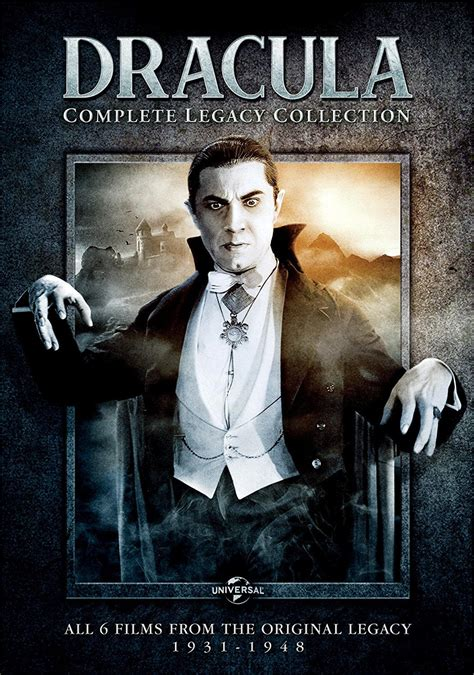 Dracula and The Mummy Legacy Collection Blu-rays Coming