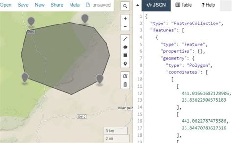 Free Online Map To Display Data From GEOJSON, KML, CSV, etc