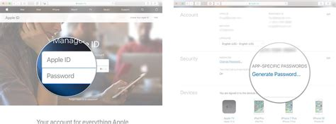 How to generate app-specific passwords with iCloud on