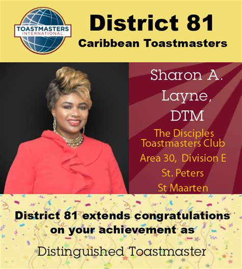 Caribbean Toastmasters - District 81 - Posts | Facebook