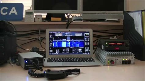 First use of my Flex 1500 SDR Transceiver - YouTube
