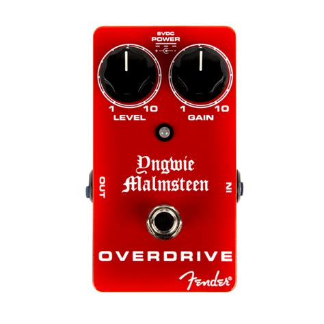 Fender Yngwie Malmsteen Overdrive Guitar Pedal For Sale