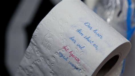 There is a norwegian toilet paper brand that uses romantic