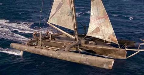 CHEMINEES POUJOULAT: A Broken Monohull and Flipping