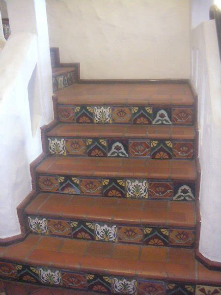 Tiled Stair Risers | Photo